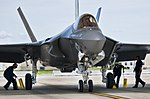 Navy maintainers putting F-35s in air 130814-F-OC707-040.jpg