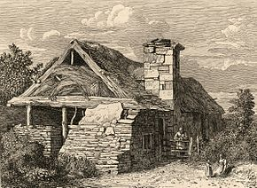 Near Valle Crucis Abbey, Denbighshire