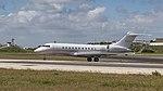 NetJets Global 5000 just arrived at Lisbon airport (46832255444).jpg