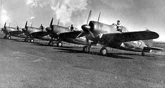 Royal Netherlands East Indies Army Air Force - ML-KNIL Brewster F2A Buffalo fighters