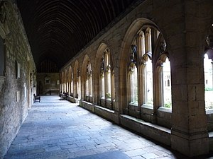William Wynford - Image: New College cloisters