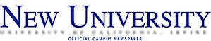 Student activities and traditions at UC Irvine - Image: New University UCI logo