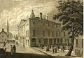 New York, Wall Street, Federal Hall and Trinity Church 1789.jpg