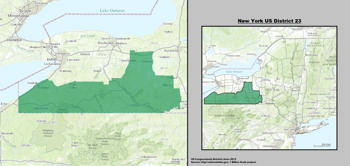 New Yorks Rd Congressional District Wikipedia - Us house of representatives map by state