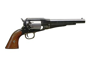 Remington Model 1858 - Remington New Model Army Revolver made c. 1863 - 1875.