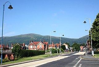 Barnards Green village in United Kingdom