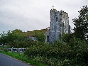Newchurch, Kent - Image: Newchurch, Kent church