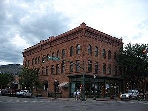 Main Avenue Historic District (Durango, Colorado) - Newman Block