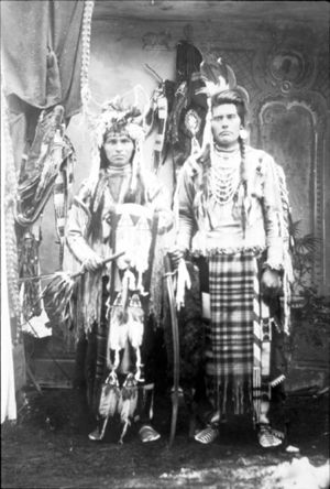 Camas prairie - Nez Perce chiefs, 1899