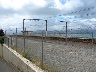 Ngauranga railway station railway station