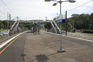 Niagara Park railway station railway station in Gosford LGA, New South Wales, Australia
