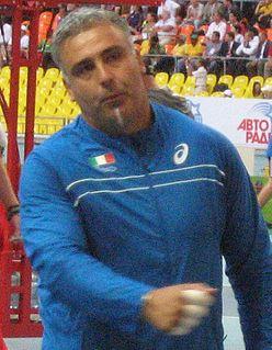 Nicola Vizzoni Italian hammer thrower