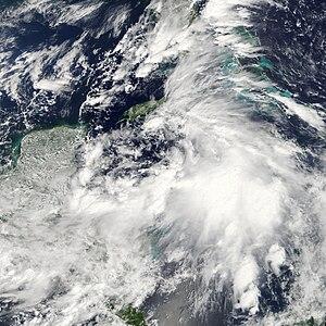 Tropical Storm Nicole (2010) - Image: Nicole Sept 29 2010
