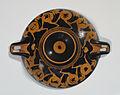 Nikosthenes Painter - Red-Figure Kylix with Running Warriors - Walters 482747 - Exterior.jpg