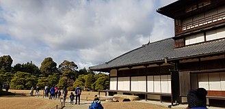 Nijō Castle - Exterior view of the Ninomaru Palace