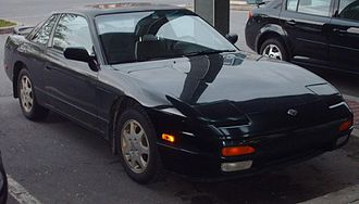 Nissan 240SX - Nissan 240SX coupe in Canada.