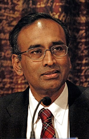 Venkatraman Ramakrishnan - Ramakrishnan at the Nobel Prize Press conference in 2009.