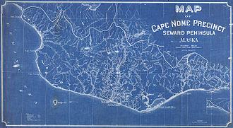 Cape Nome - Cape Nome Precinct map, 1908