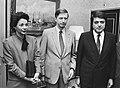 Nora Astorga Dick Dolman and Sergio Ramirez 1982.jpeg