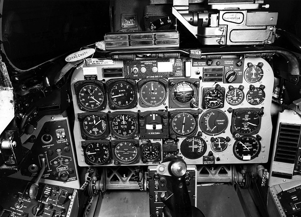 North American F-100D Cockpit 060922-F-1234S-014