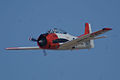 North American T-28B Trojan Navy N63NA Enemy Forces Suppression 2nd Pass 02 TICO 13March2010 (14598870302).jpg
