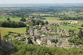 North Nibley - Image: North Nibley geograph.org.uk 749589