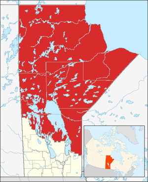 Northern Region, Manitoba - Image: Northern Manitoba CA
