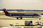 Northwest DC-9 N777NC at ATL (16150840035).jpg