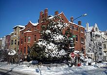 Northwest corner of 20th & Q Streets, N.W..JPG