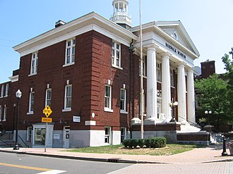 Norwalk, Connecticut - Norwalk's former city hall