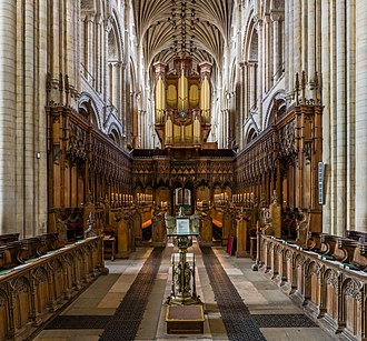 Norwich Cathedral - The Quire