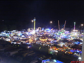 Forest Recreation Ground - Nottingham Goose Fair in 2007