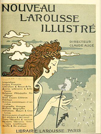 Nouveau Larousse illustré - Cover of a volume of the Nouveau Larousse illustré
