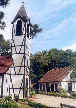 German Brazilians - Nova Petrópolis, settled by Germans in 1858