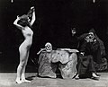 Nude actress in Still from Temptation of St. Anthony (1900).jpg
