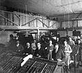 Nyomdászműhely az 1930-as évek közepén. Fortepan 9236.jpg