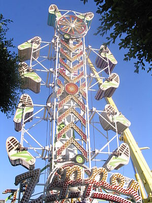 The Zipper at the Orange County Fair (California).