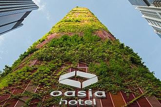 WOHA - Oasia Hotel Downtown, Singapore 2011-2016