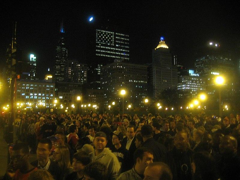 File:Obama Election Night Rally (3005994322).jpg