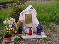 Obelisk upamiętniający Janusza Kuliga 1.JPG
