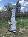 Oberursel, Lomonossow-Park, Skulptur Struck by moonlight.jpg