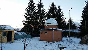 La Cañada Observatory - Image: Observatorio 20150124