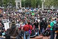Occupy Portland Day 1 Pioneer Courthouse Square.jpg