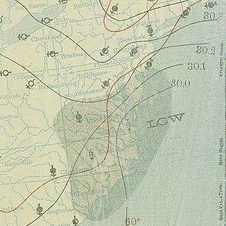 1896 East Coast hurricane