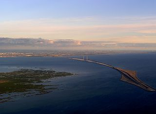 Øresund Line railway line in Denmark and Sweden