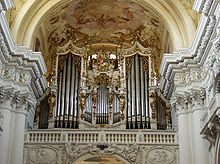 photo : tuyaux de l'orgue
