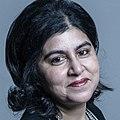 Official portrait of Baroness Warsi crop 3.jpg