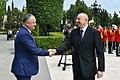 Official welcoming ceremony held for Moldovan president Igor Dodon.jpg