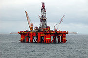 Oil platform in the North SeaPros