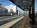 Okayama Electric Tramway Seikibashi Tram Stop - panoramio (10).jpg